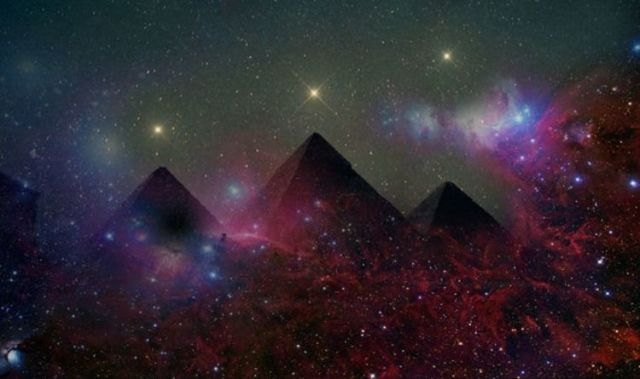 Image result for giza star alignment