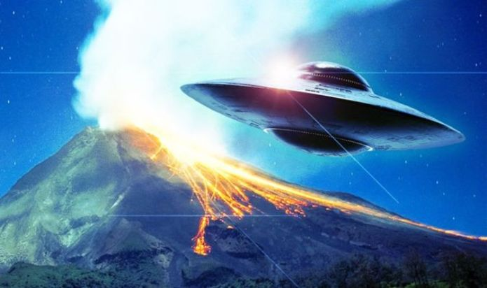 Experts say UFO sighting over Indonesian volcano did come from space - but was it alien?