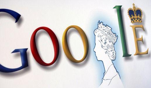 Google Doodle: The Queen
