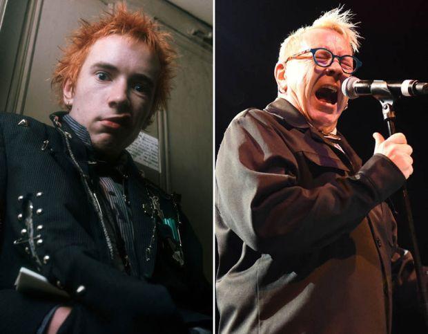 Sex Pistols' Johnny Rotten