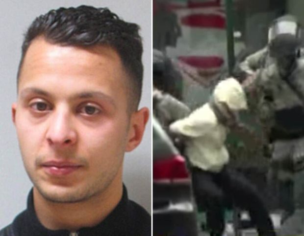 Paris attacks suspect Salah Abdeslam shot and arrested in Brussels