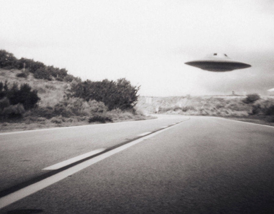 Flying saucer above highway, real or not?   UFO NEWS: Is this REAL TRUTH about Pentagon UFO clip that convinced us aliens may exist? | Weird | News 146831