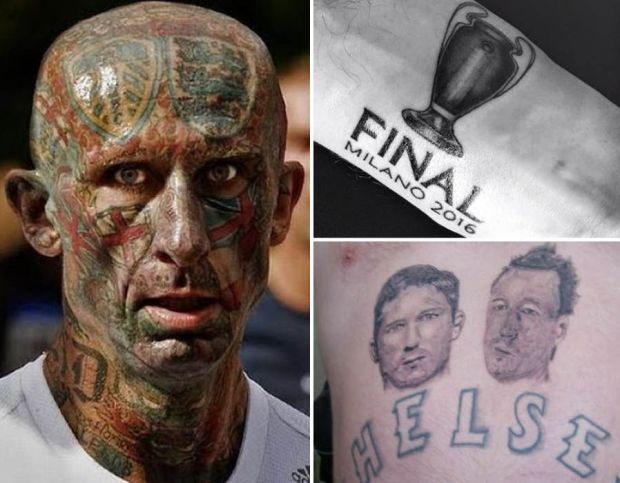 Worst football tattoos