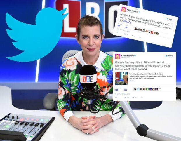 Katie Hopkins at LBC - London