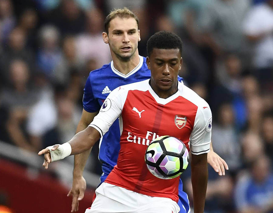 Image result for iwobi against chelsea