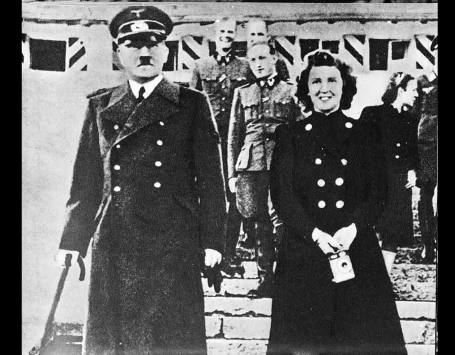 Image result for IMAGES OF Adolf Hitler and Eva Braun