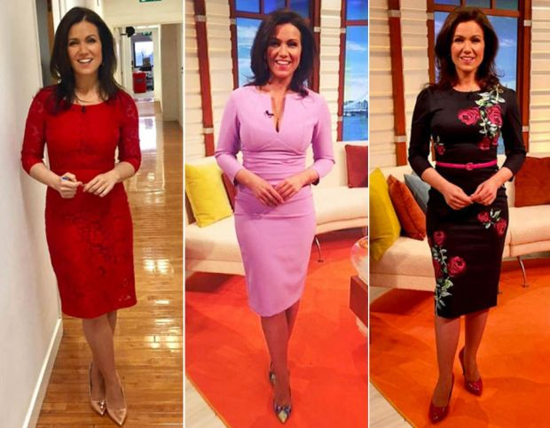 Susanna Reid's Good Morning Britain wardrobe