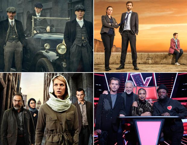 The Best TV to watch out for in 2017 including Peaky Blinders, Broadchurch, Homeland & The Voice UK