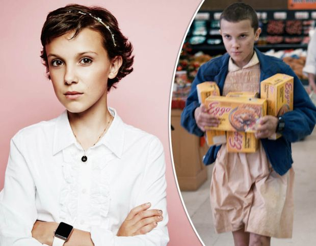 Stranger Things actress Milly Bobby Brown