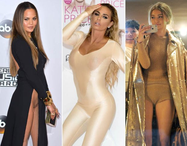 celebrity wardrobe malfunctions of 2016
