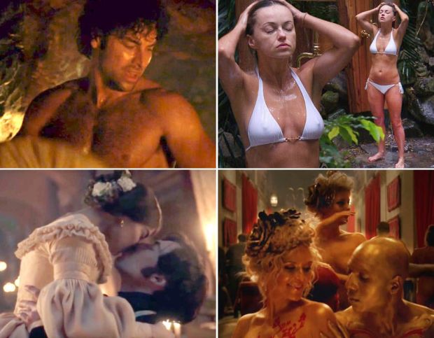 Sexiest TV Moments of 2016
