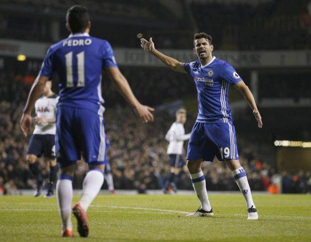 Diego Costa Pedro rage Chelsea
