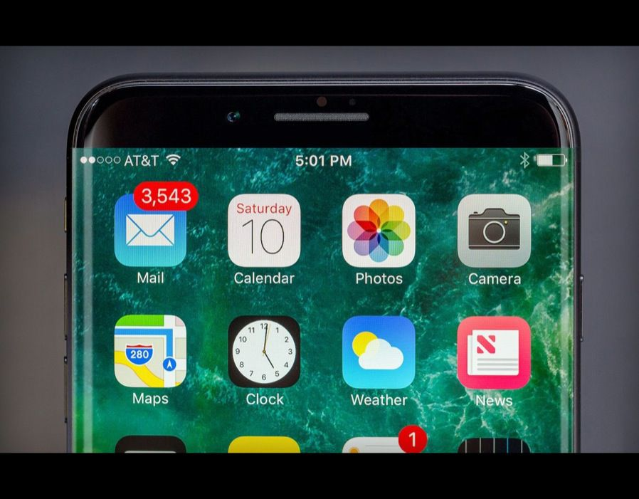 Apple iPhone 8 will debut a brand-new all-glass look, with a curved OLED display and no physical Home Button