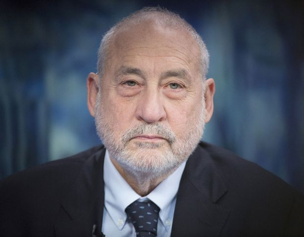 Nobel Prize - Winning Economist And Columbia University Professor Of Economics Joseph Stiglitz Interview