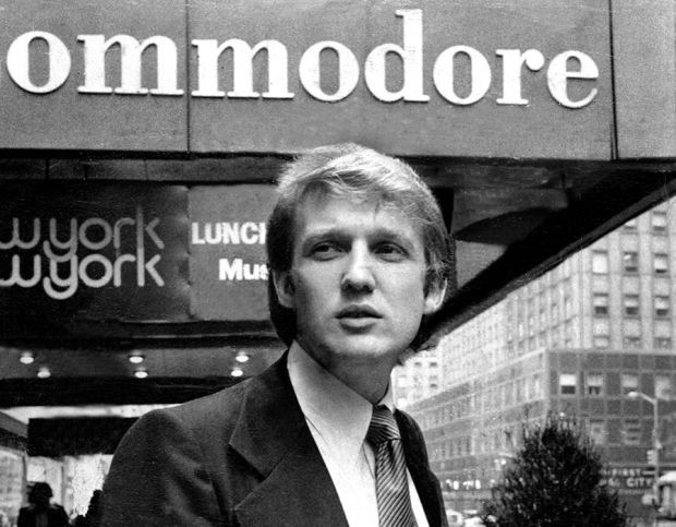 Real estate developer Donald Trump annouces intentions to build a $100 million dollar Regency Hotel in 1976.