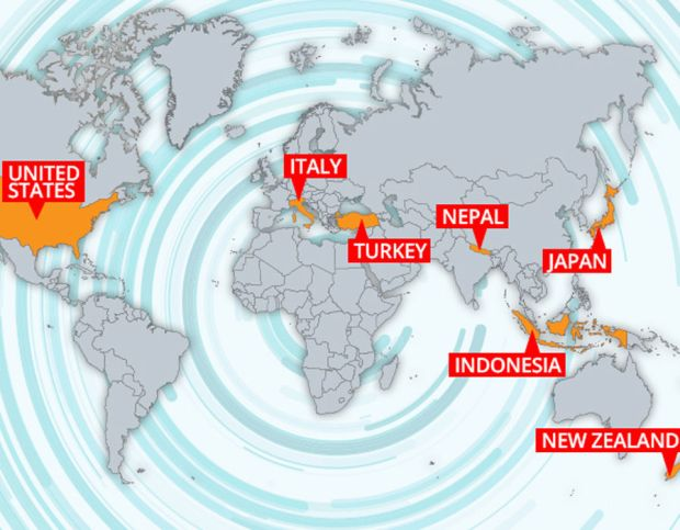 7 deadly earthquake hotspots