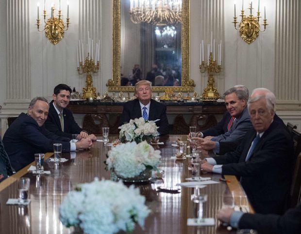 US-POLITICS-TRUMP-CONGRESSIONAL LEADERS