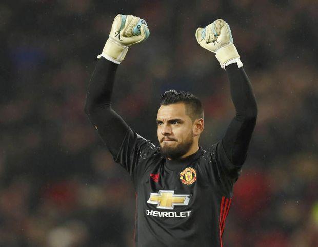 Sergio Romero Manchester United