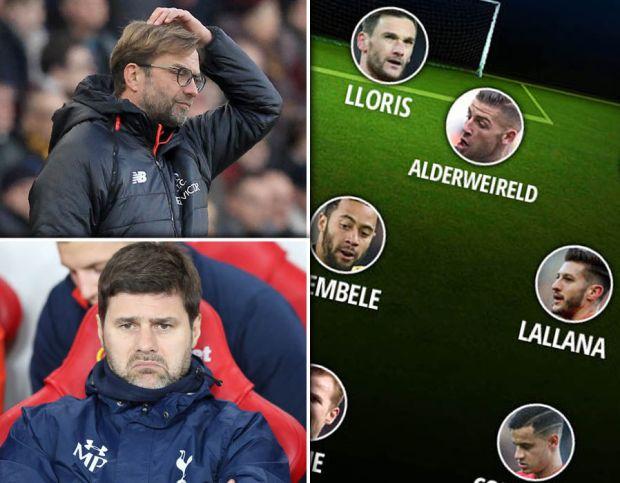 Liverpool-Tottenham-Hotspur-combined-XI