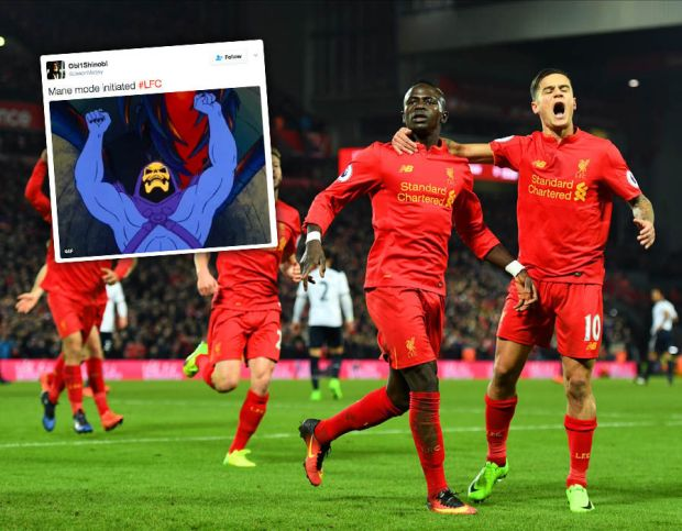 Sadio-Mane-Liverpool-Tottenham-Twitter-reacts