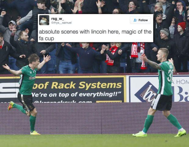 Lincoln Burnley FA Cup