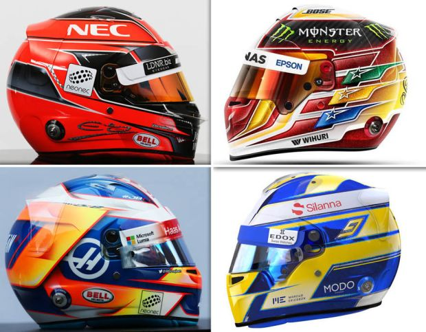F1-2017-driver-helmets
