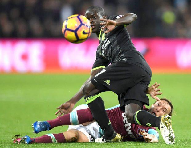 N'Golo Kante Chelsea West Ham