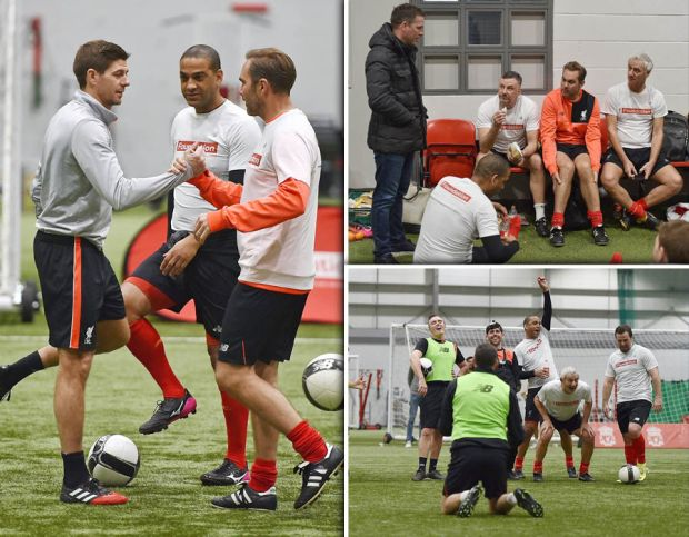 Liverpool-legends-training-charity-Real-Madrid