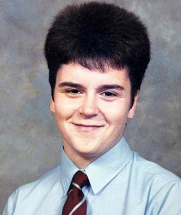 Nicola Sturgeon rocks a 'Dennis the menace' hair style back in the day