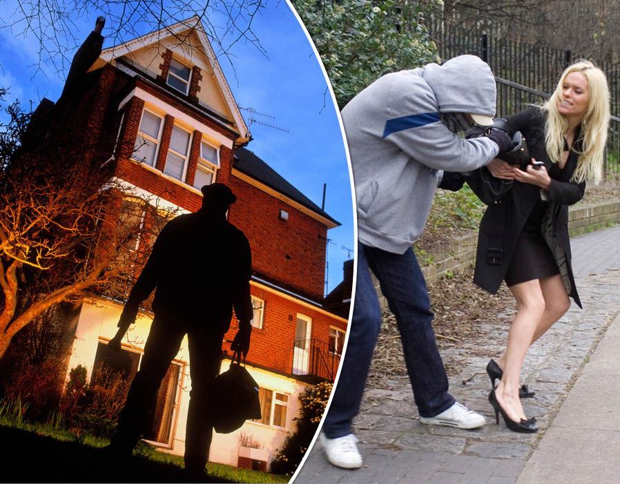 Les rues résidentielles les plus dangereuses du Royaume-Uni