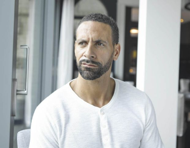 Rio Ferdinand made a documentary about the loss of his wife called 'Being Mum and Dad'