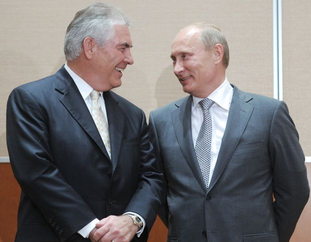 1. Tillerson Doesn't Support Sanctions on Russia, Calling Them Ineffective