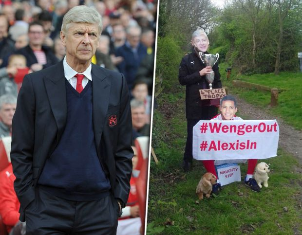 Arsenal-fans-protest-Arsene-Wenger-training-ground