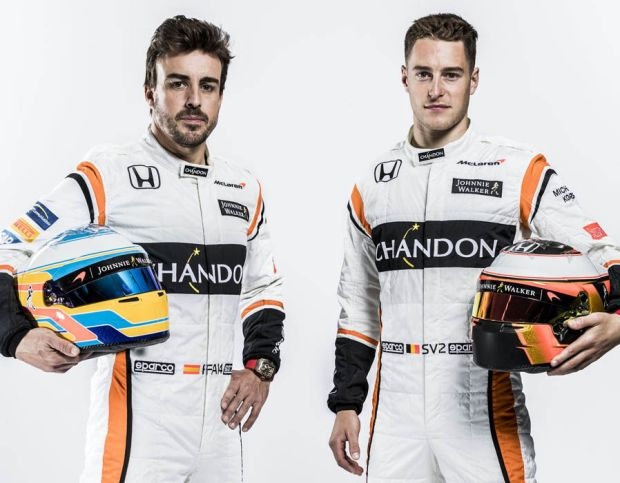 Fernando Alonso and Stoffel Vandoorne