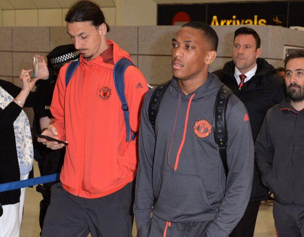 Zlatan Ibrahimovic Anthony Martial