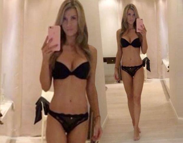 Joanna Krupa strips down lingerie
