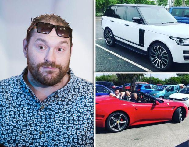 Tyson-Fury-Range-Rover-gift-Ferrari
