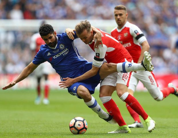 Rob Holding Diego Costa