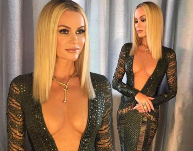 Amanda Holden wowed in a seriously sexy dress at the BGT finals