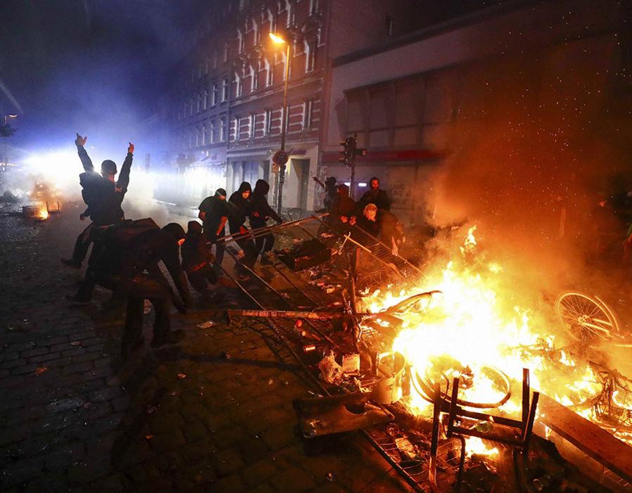 Image result for support hamburg G20 protest prisoners