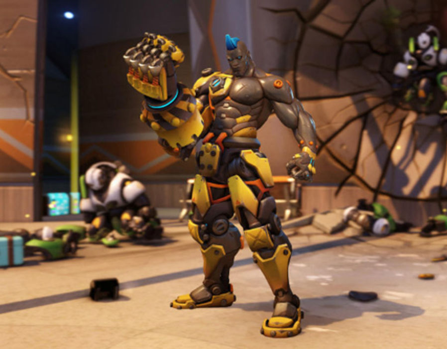 Overwatch Skins New Doomfist Update Arrives Complete With Hero Cosmetics Gaming