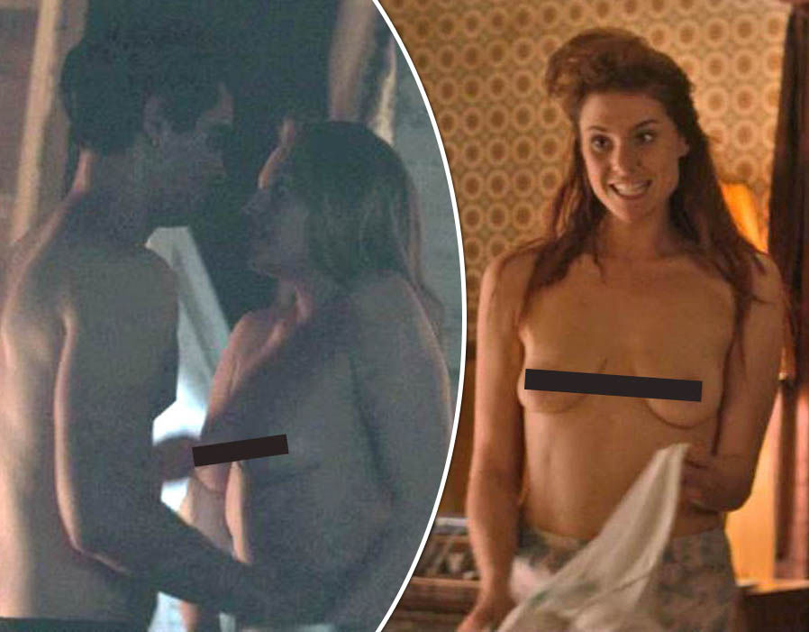 Sexiest TV moments of 2017