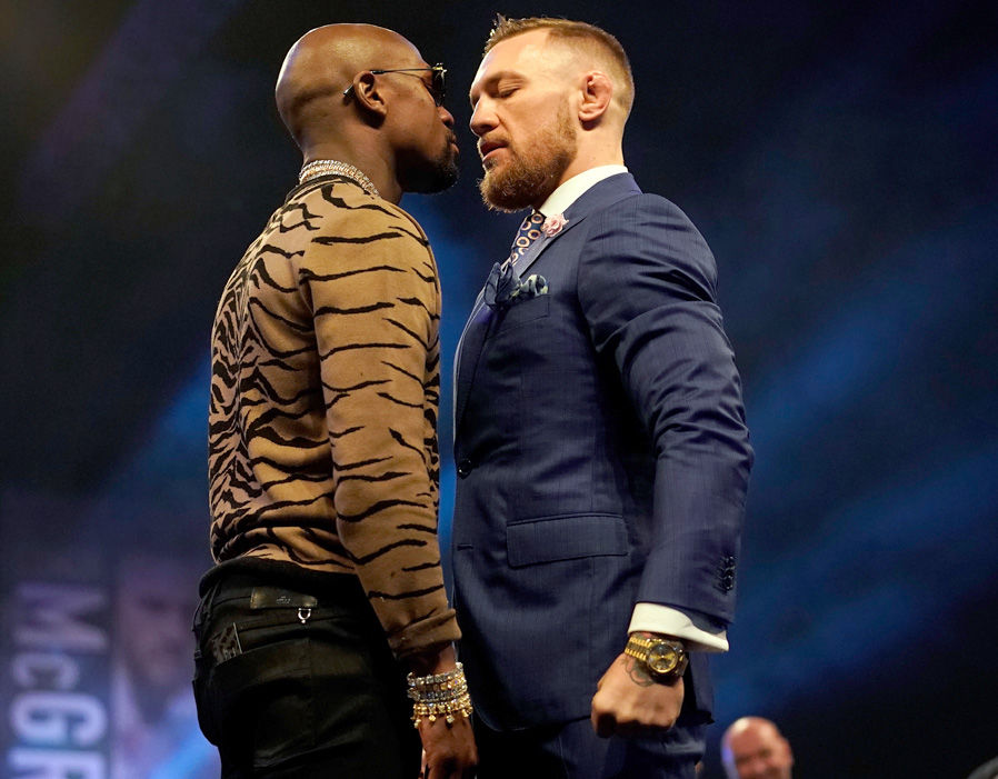 Floyd Mayweather Conor McGregor  McGregor Mayweather LIVE countdown: Hype building around Las Vegas showdown | Boxing | Sport 272974