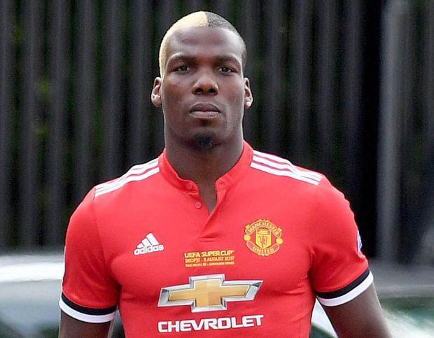Mathias Pogba Manchester United shirt