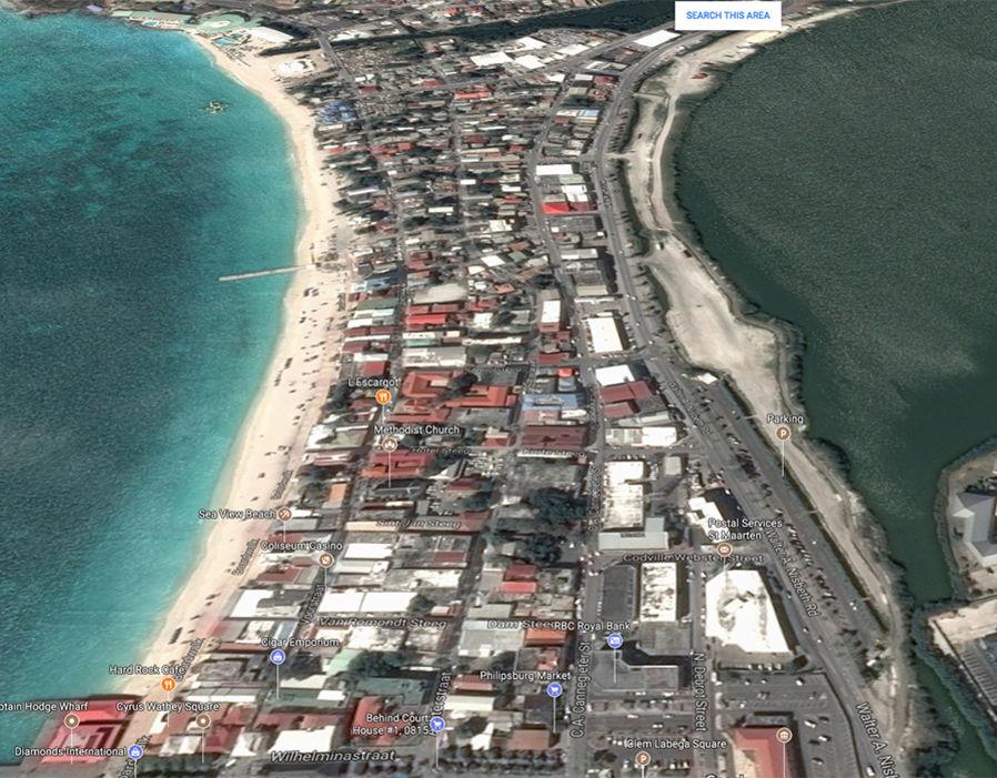 Sint Maarten before Hurricane Irma