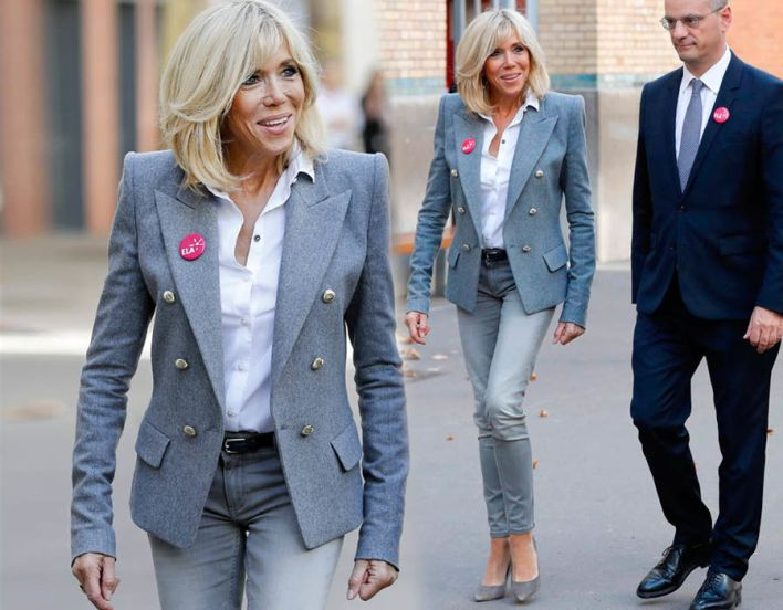 Brigitte Macron heads back to school to launch the ELA campaign