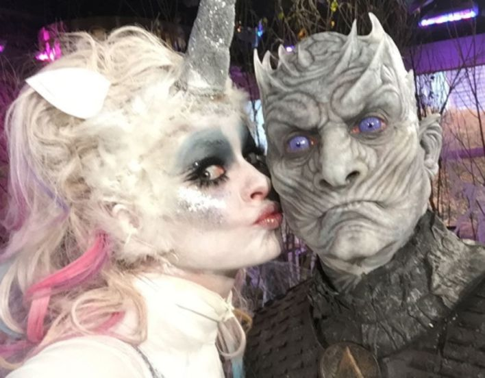 Holly Willoughby and Phillip Schofield dress up for Halloween
