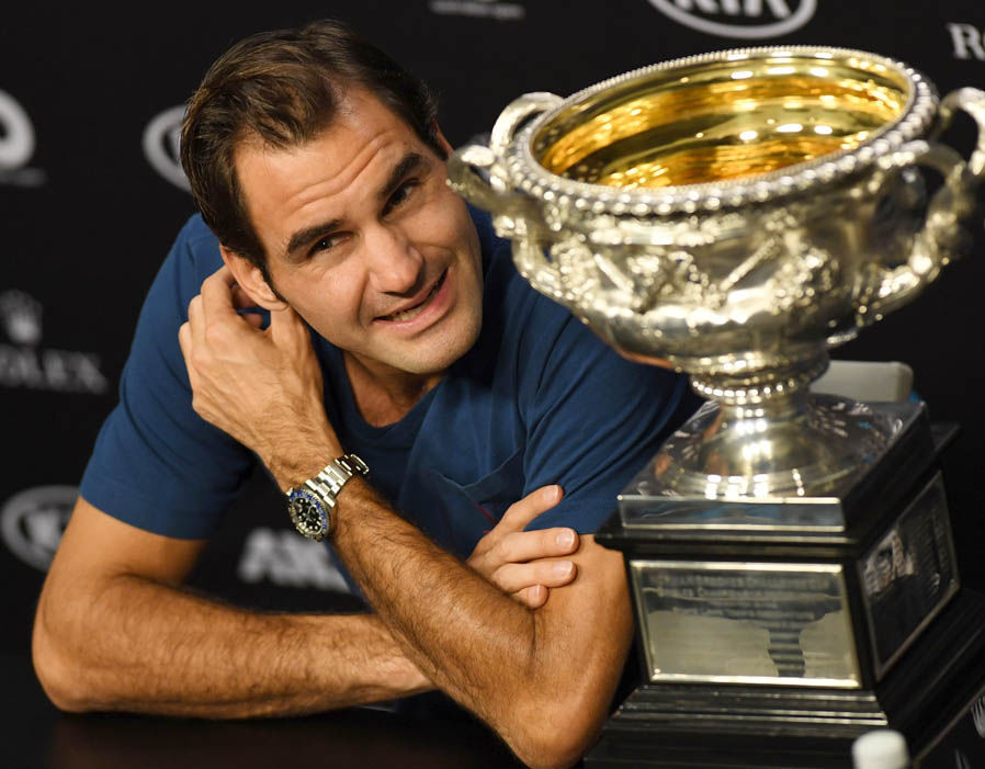 Roger Federer  Australian Open 2018 results LIVE: Marin Cilic awaits winner of Federer vs Chung | Tennis | Sport 330007