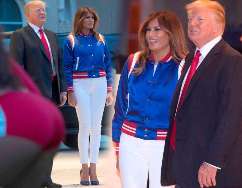Melania Trump in pictures