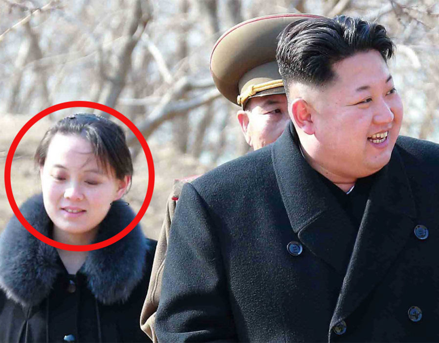 Kim Jong-un's sister to visit PyeongChang Winter Olympic Games  Winter Olympics 2018: Kim Jong-un's sister body language revealed- 'She is above everyone' | World | News 339619